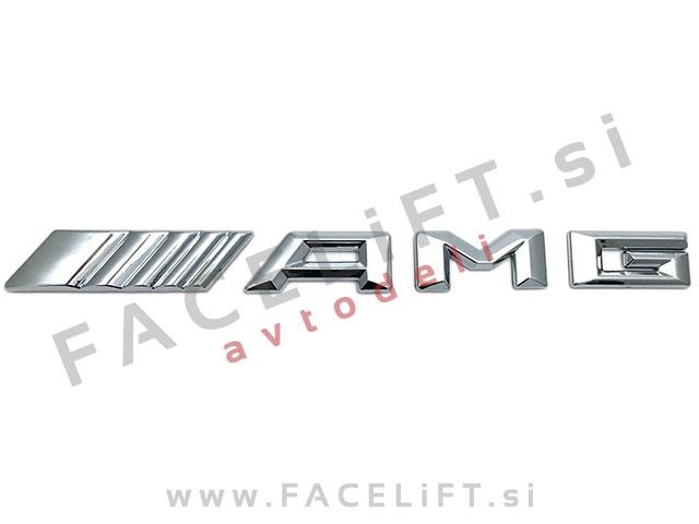 Mercedes / AMG emblem (3D nalepka)