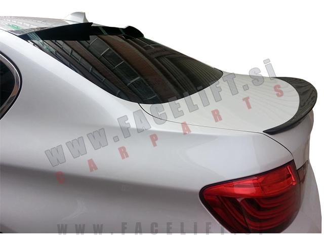 BMW 5 / F10 Limuzina (10-17) / lip spojler za prtljažnik / M5 (večja izvedba)