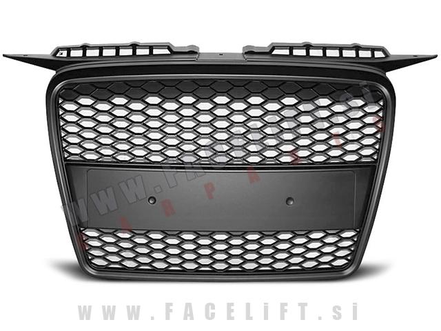 Audi A3 / 8P (05-08) / maska / RS izgled / črna (mat)