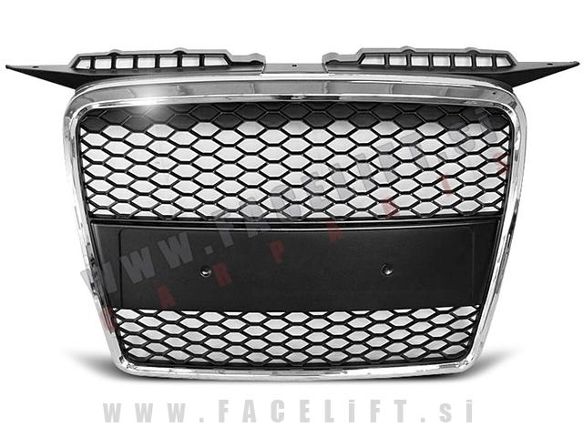 Audi A3 / 8P (05-08) / maska / RS izgled / kromirana (sijaj)