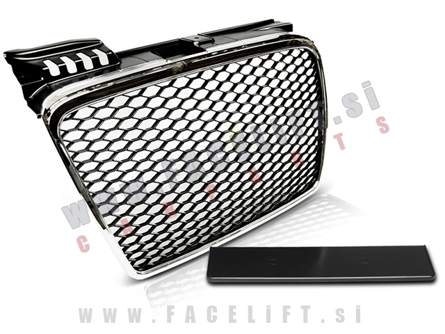 Audi A4 / B7 8E (04-08) / maska / RS izgled / kromirana