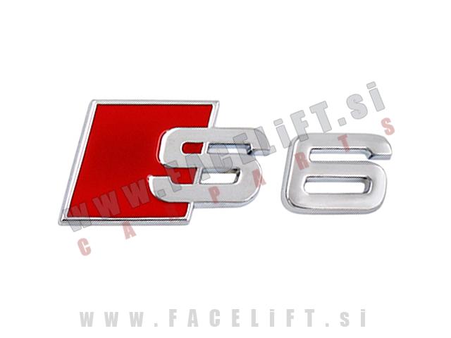 Audi / S6 emblem (nalepka)