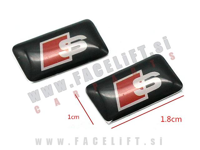 Audi / S-Line emblem (3D nalepka)