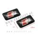 Audi / S emblemi (3D nalepke) / 10 kosov