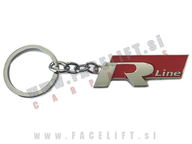 VW / obesek za ključe / R-Line