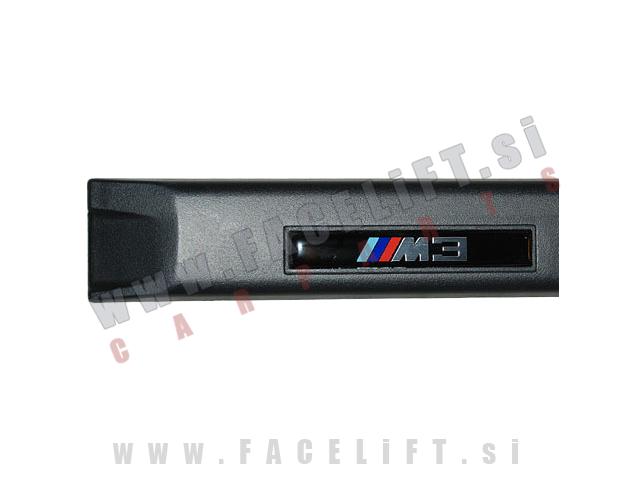 BMW 3 / E36 Cabrio Coupe (90-99) / okrasne letve za vrata / M3