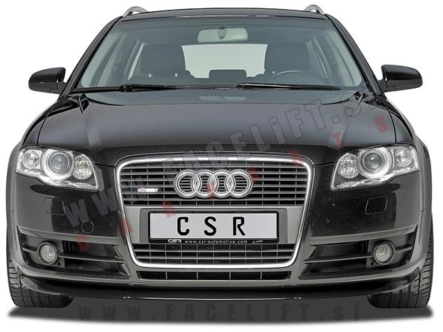 Audi A4 / B7 8E (04-08) / podaljšek sprednjega odbijača / karbon