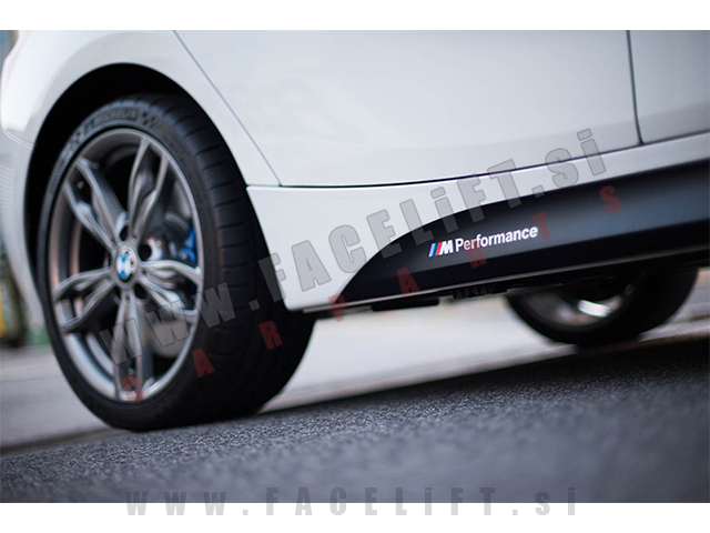 BMW / M-Performance nalepke / bele