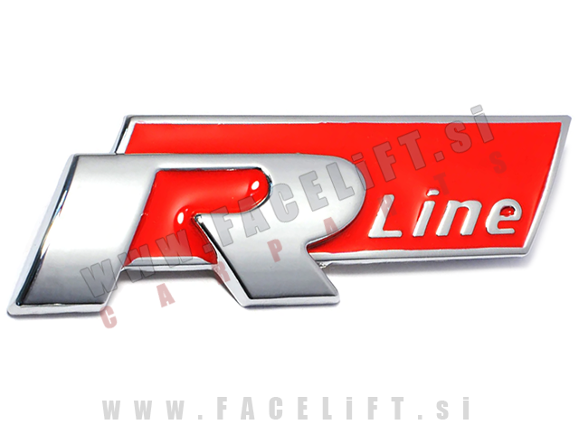 VW / R-Line emblem za masko