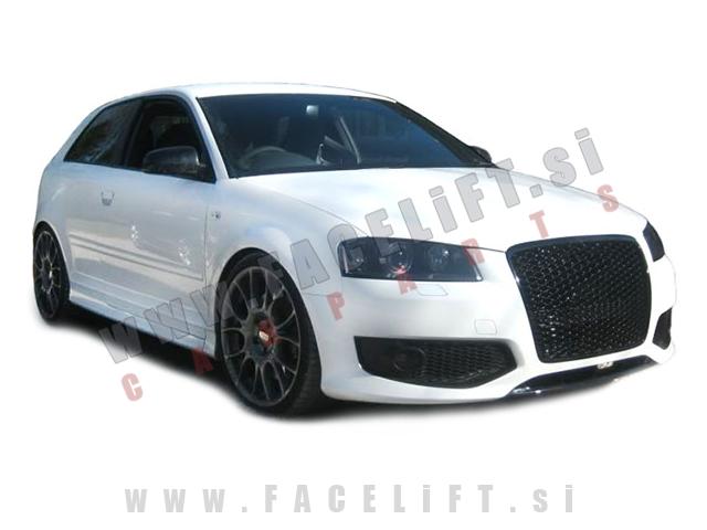 Audi A3 / 8P (05-08) / maska / RS izgled