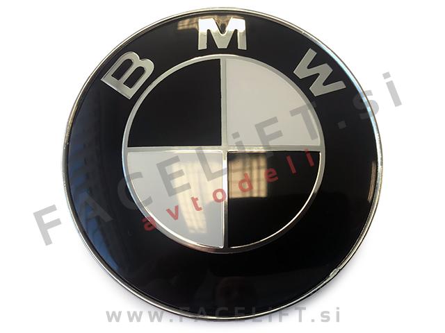 BMW emblem / 82mm / črni