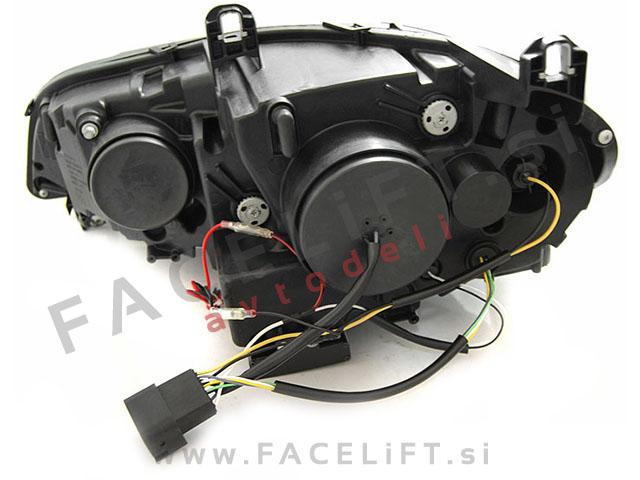 BMW X5 / E70 (06-10) / bi-xenon žarometi / DRL