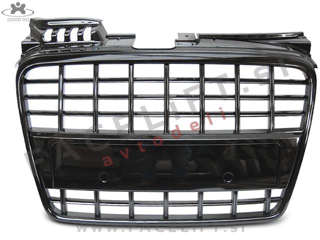 Audi A4 / B7 (04-08) / maska / S8 izgled / črna (sijaj)