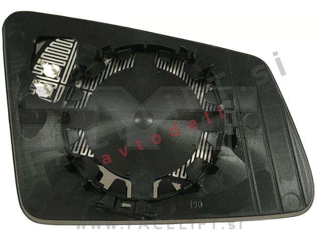 Mercedes GLK / X204 (08-15) / steklo ogledala / levo
