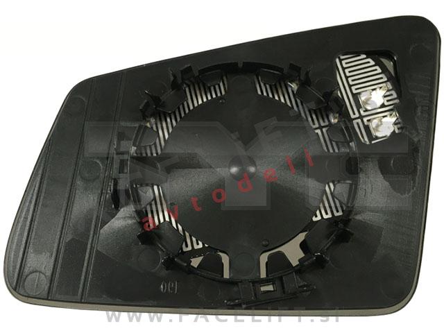 Mercedes GLK / X204 (08-15) / steklo ogledala / desno