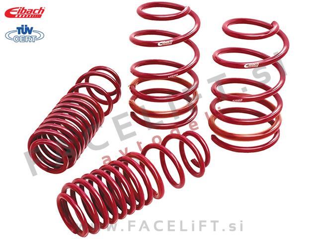 Seat Leon / 1M (99-05) / športne vzmeti Eibach Sportline / 40-50/30mm