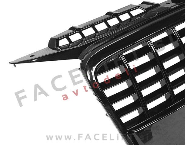 Audi A3 / 8P (04-08) / maska / S8 izgled / črna (sijaj)