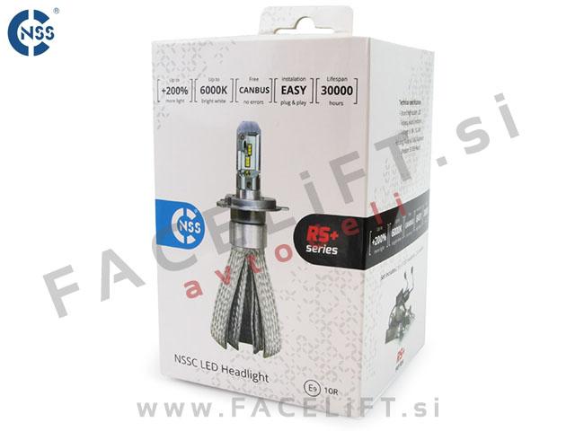 LED kit / H9 / Philips Lumileds ZES / 50W (7000lm) / RS+ / CANBUS / 12V 24V