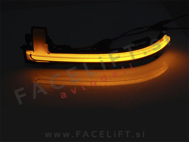 BMW X3 / F25 LCI (14-17) / dinamični LED smerniki bočnih ogledal / DTS