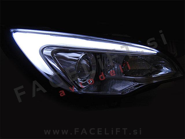 Opel Astra J / (09-15) / žarometi / DRL