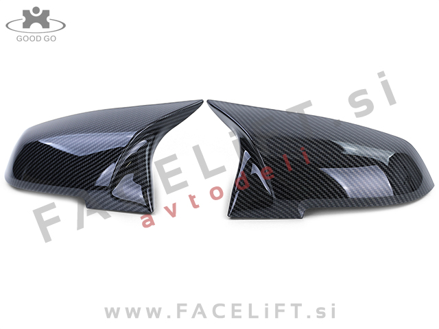 BMW 3 F30 F31 11-19 mirror covers M3 look carbon (glossy)