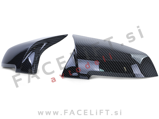 BMW 3 GT F34 13- mirror covers M3 look carbon (glossy)