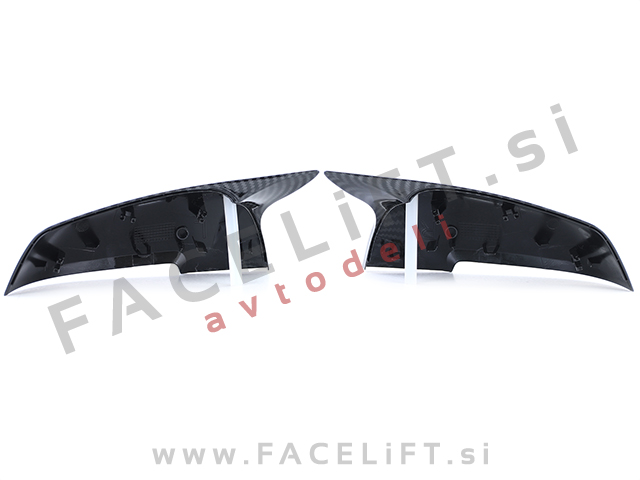 BMW 4 F32 F33 F36 13- mirror covers M4 look carbon (glossy)