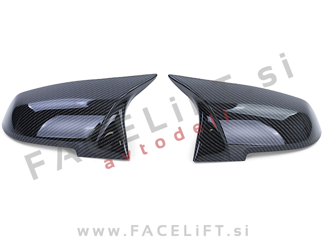 BMW X1 E84 12-15 mirror covers carbon (glossy)