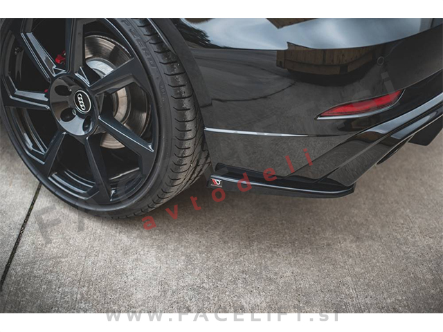 Audi RS3 Sportback 8V 16-20 rear bumper splitters