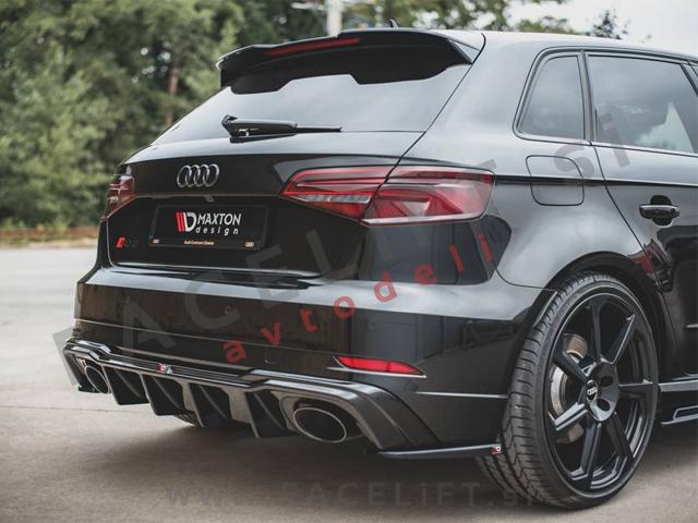 Audi RS3 Sportback 8V 16-20 rear bumper diffuser