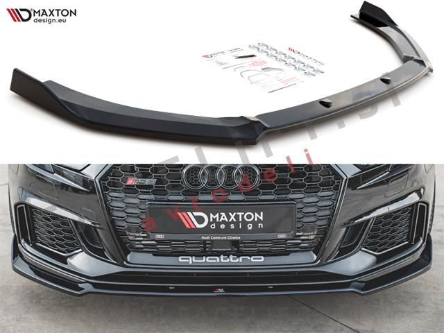 Audi RS3 Sportback 8V 16-20 front bumper spoiler