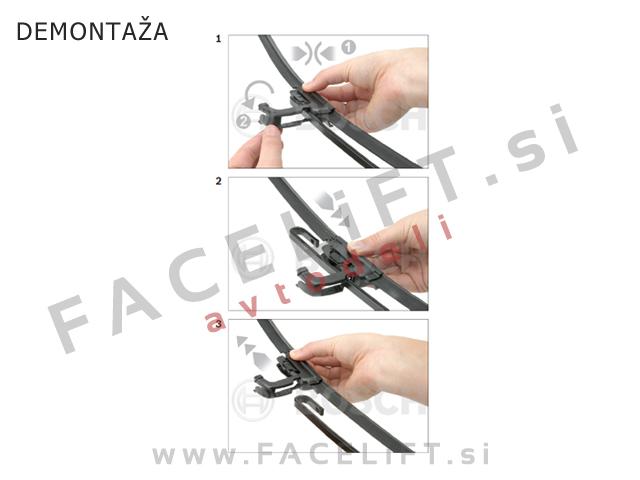 Wiper blades Bosch Aerotwin AR605S