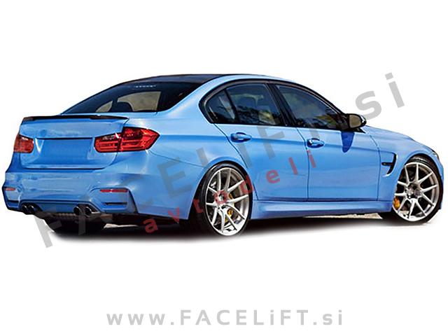 BMW 3 F30, M3 F80 11-19 black (glossy)
