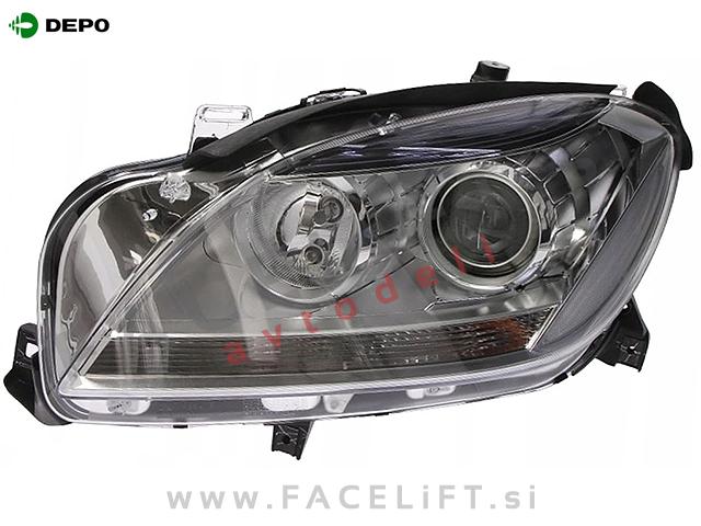 Mercedes ML W166 11-15 headlight left