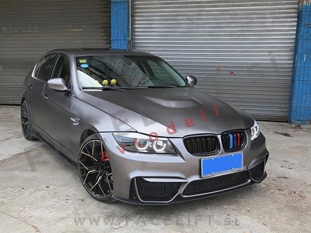 BMW 3 E90 E91 LCI 08-12 front bumper M4 look