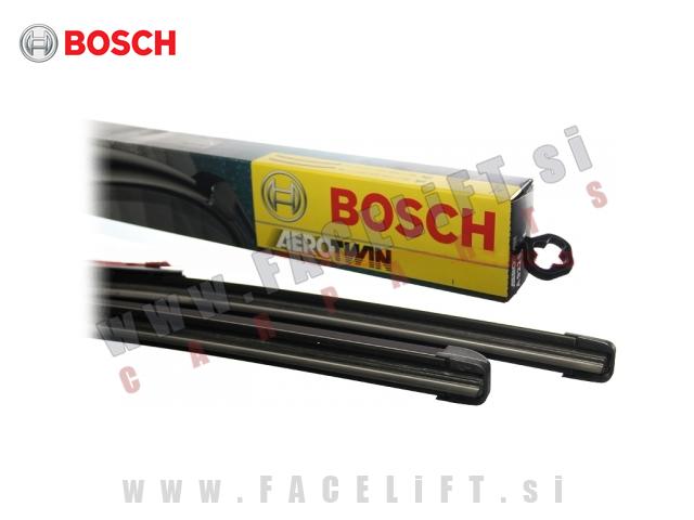 Audi A1 / 8X (10- ) / silikonske brisalne metlice BOSCH AEROTWIN A555S