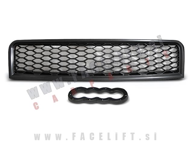 Audi A4 / B6 8E (00-04) / maska / RS izgled / črna (mat)