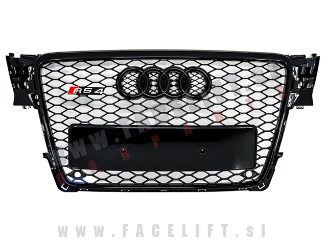 Audi A4 / B8 (07-11) / maska / RS4 (Black Edition)