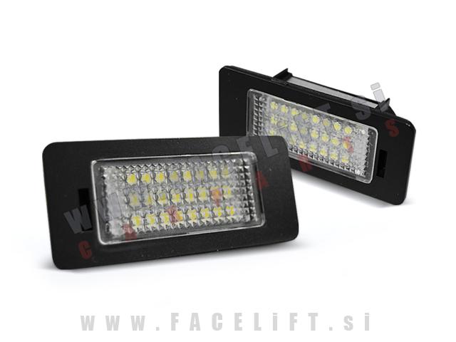 Audi / LED osvetlitev registrske tablice z ohišjem