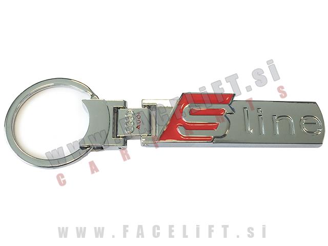 Audi / obesek za ključe / S-Line