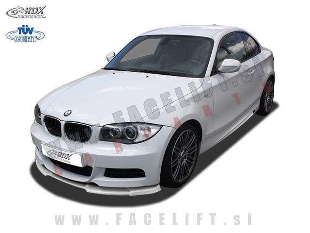 BMW 1 / E82 E88 M (07-14) / podaljšek sprednjega odbijača