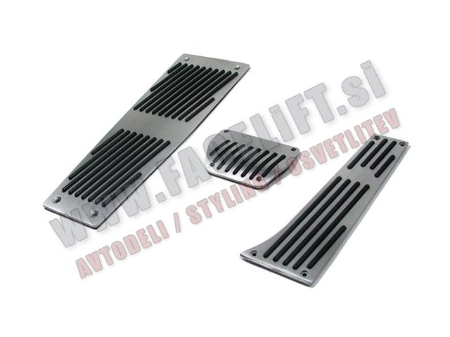 BMW 5 / E60 E61 / Aluminijasti nastavki za pedala / 3 - delni