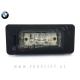 BMW / LED osvetlitev registrske tablice z ohišjem