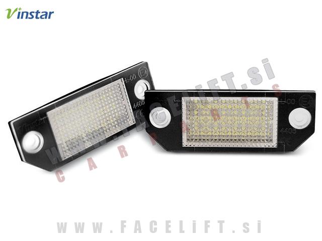 Ford Focus / DA (04-08) / LED osvetlitev registrske tablice z ohišjem