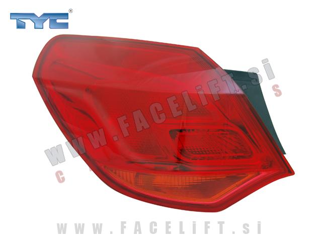 Opel Astra J / (09- ) / zadnja zunanja luč / leva
