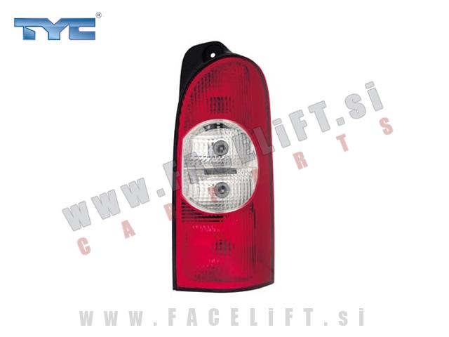 Opel Movano / (03-10) / zadnja luč / desna