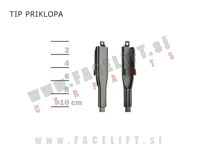 Audi A3 / 8P (04-13) / silikonske brisalne metlice BOSCH AEROTWIN A929S