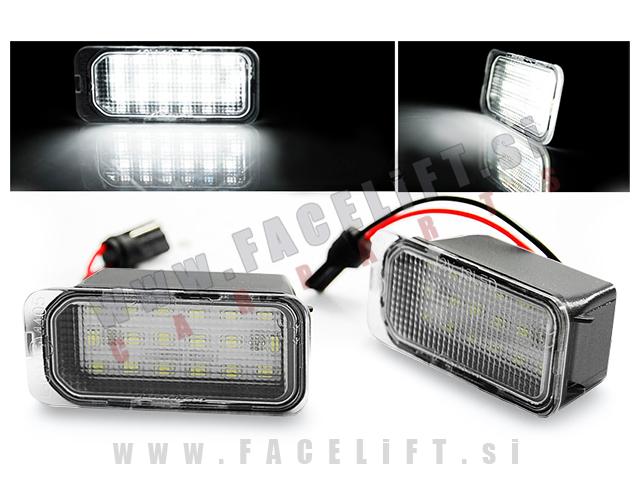 Ford / LED osvetlitev registrske tablice z ohišjem