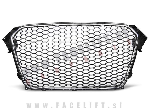 Audi A4 / B8 (11-15) / maska / RS izgled / kromirana (sijaj)