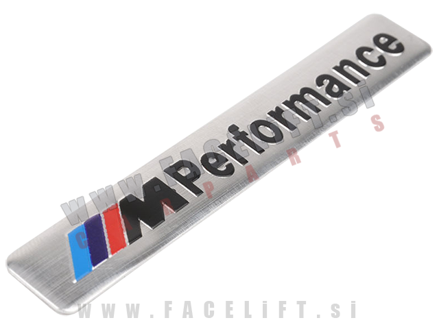 BMW / M-Performance nalepka / srebrna
